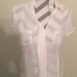 New silk blouse